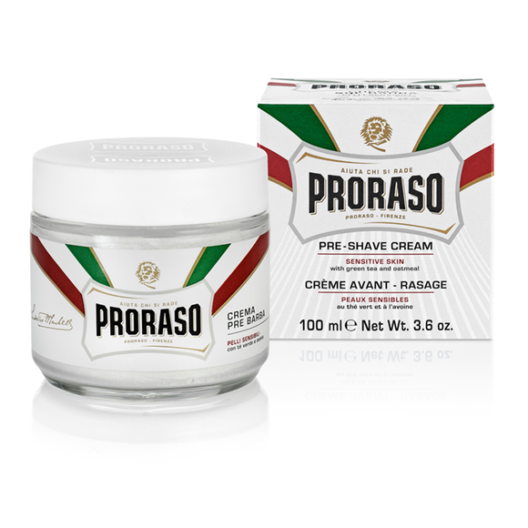 Proraso White Sensitive Pre Shave Cream