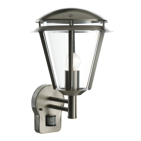 Endon Lighting 49945 Inova Stainless Steel PIR Outdoor Wall Light
