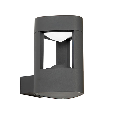 Endon Lighting EL-40074 Tribeca Dark Grey LED Outdoor Wall Light