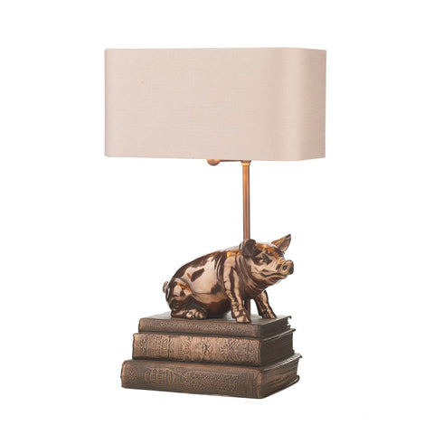 David Hunt Lighting HOR4264 Horace Single Light Copper Table Lamp Base Only