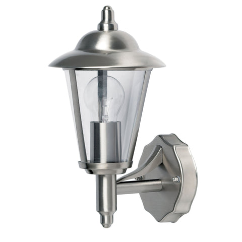 Endon Lighting YG-862-SS Klien Single Light Stainless Steel Outdoor Wall Light