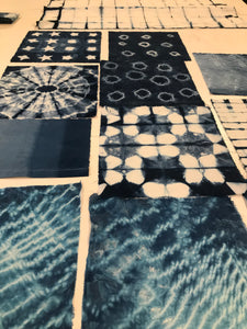 Blue Hands Workshop - Introduction to Indigo Saturday 4th May  2019 (Full Day Workshop)