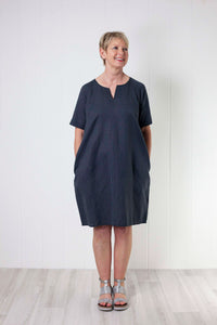 Two Danes Laica Dress - Charcoal