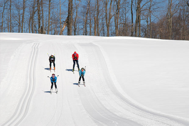 Skate Ski Trails - Scenic Caves Nordic Centre, Blue Mountains