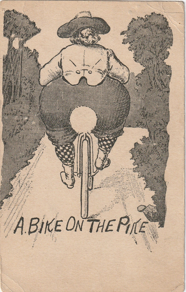 A Bike On The Pike Postcard