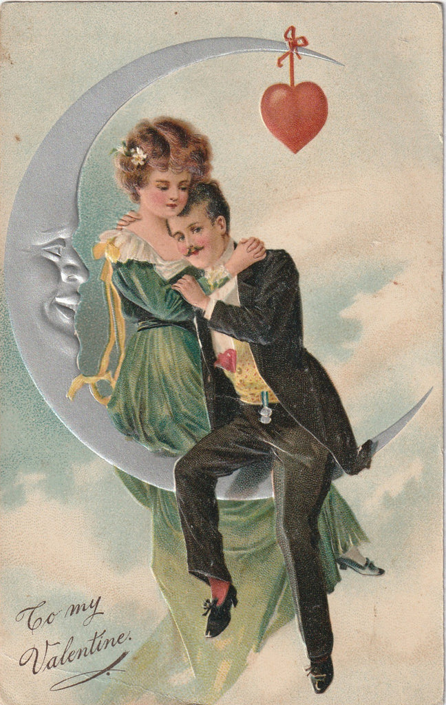 By the Light of the Silvery Moon - Postcard, c. 1900s