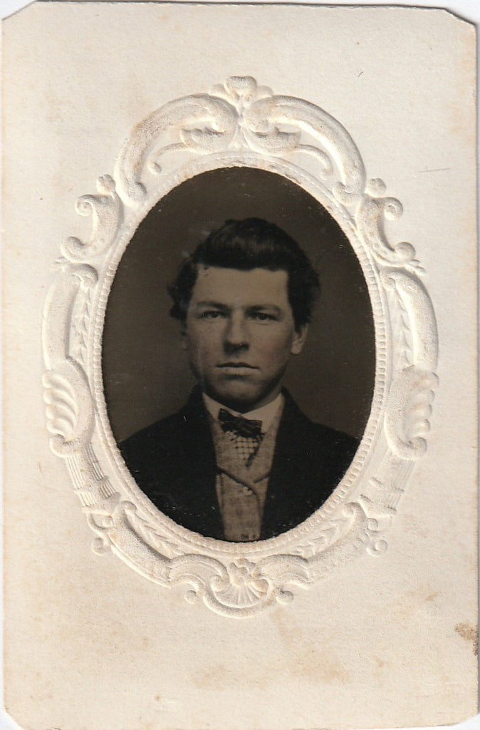 Dashing Victorian Gentleman Tintype