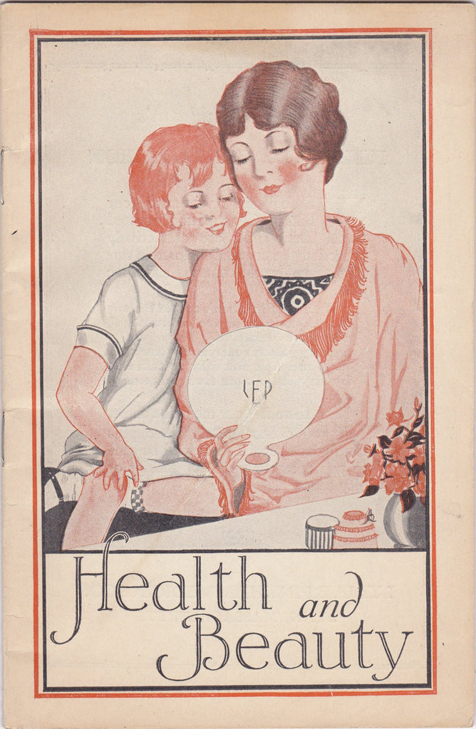 Health and Beauty 1927- 1920s Antique Booklet- Lydia E Pinkham Remedies- Herb Medicine- Medical Testimonials- Ephemera- Lynn, Mass