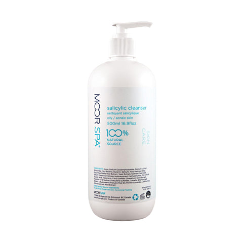 Image of Cleansers & Removers 16.9 floz Moor Spa Salicylic Cleanser 4.0 floz