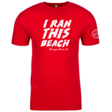Surf City I Ran This Beach Tech Tee - Men's