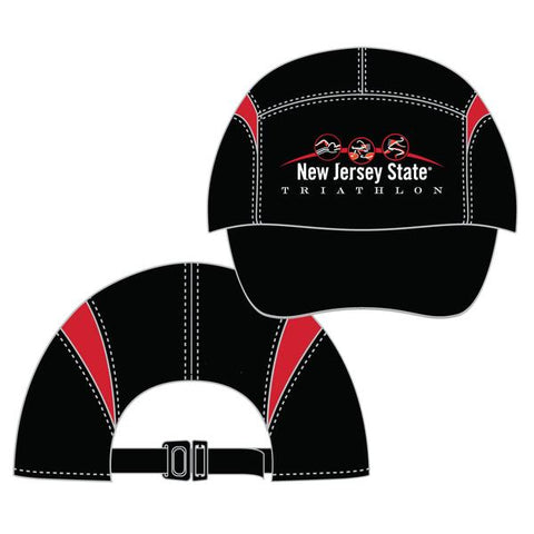 New Jersey State Triathlon Black BOCO Hat