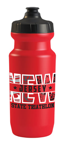 New Jersey State Triathlon 21 oz. Water Bottle