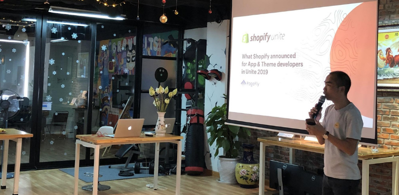 Shopify Post Unite Recap meetups in Hanoi and Ho Chi Minh City