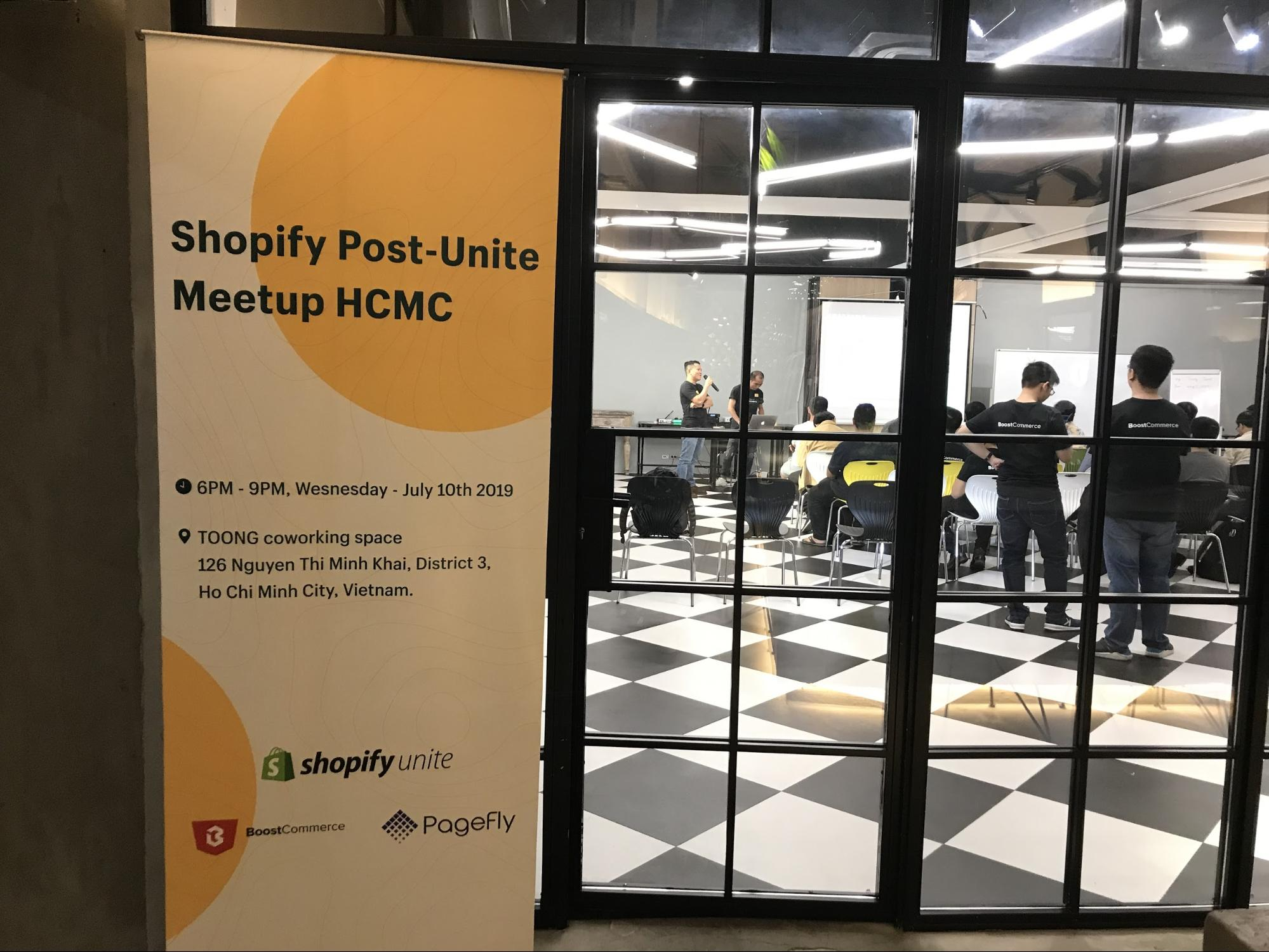shopify post unite meetup 5