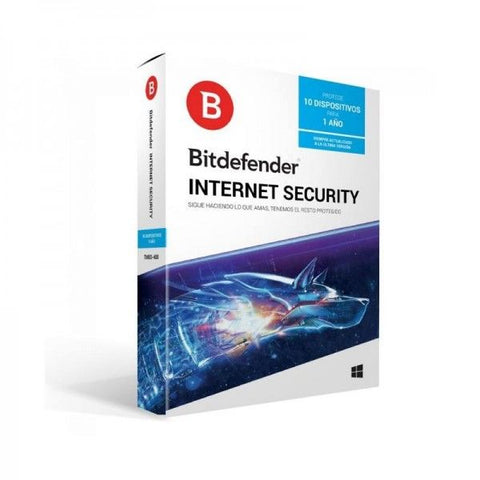 INTERNET SECURITY BITDEFENDER 1 Año 2018