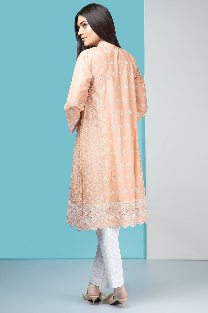 Single Shirt Lawn Chikan Kari    1309318 - Unstitched - Warda Designer Collection