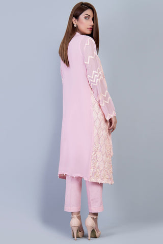 Stitched Formal Shirt with Inner LPS1863 - Pret - Warda Designer Collection