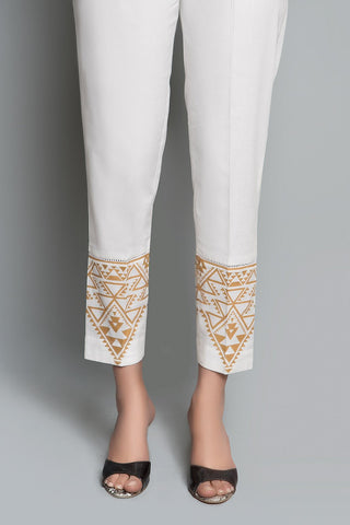 PRINTED TROUSER Printed LS19044 - Bottoms - Warda Designer Collection