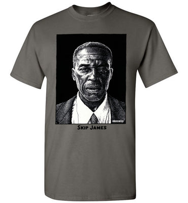 Skip James Blues Men - Men's Short Sleeve T-Shirt