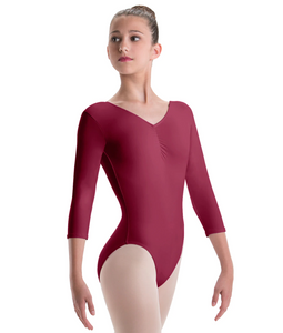 Motionwear 3/4 Sleeve Tencel Leotard - 2184