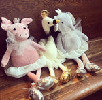 Suffolk Plush Ballerina Animals