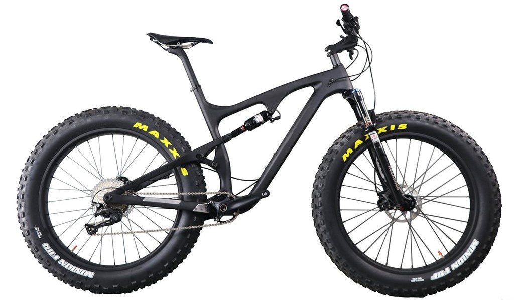 ICAN SN04 full suspension fat bike