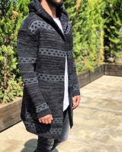 Load image into Gallery viewer, Oversized Hoodie Cardigan B246 Streetwear Cardigan