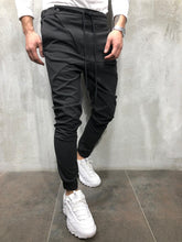 Load image into Gallery viewer, Anthracite Banding Jogger Pant A247 Streetwear Jogger Pants