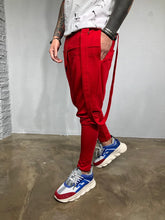 Load image into Gallery viewer, Strap Red Joggers BL445 Streetwear Mens Jogger Pants