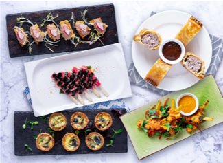 Canapés - Choice of 5 Per Person