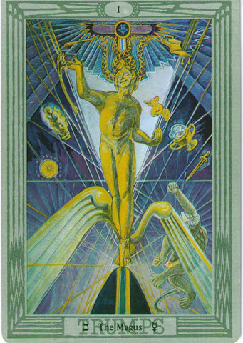 Aleister Crowley Thoth The Magus Tarot Card