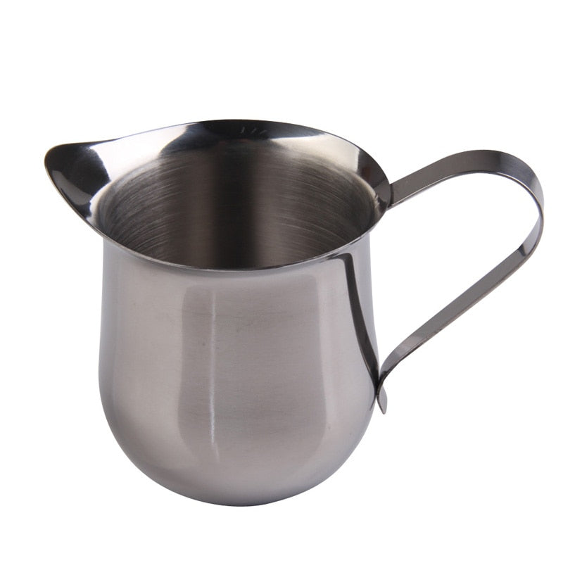 3 oz / 5 oz / 8 oz Stainless Steel Coffee Milk Frothing Jug