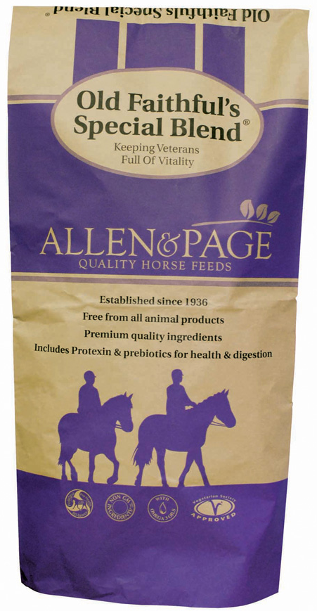 Allen & Page Old Faithful's Special Blend - 20kg