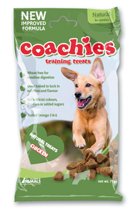 Coachies Natural Training Treats Chicken Flavour