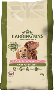 Harringtons Salmon & Potato Food 12kg
