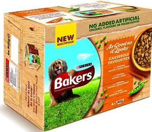 Bakers As Good As It Looks Casserole Favourites Tub 4 x 4 x 200g