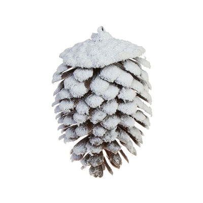 Snowy Pinecone Ornament
