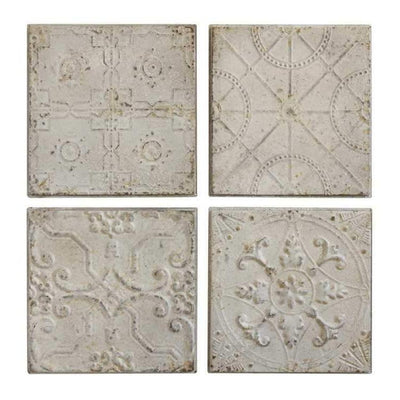 Antique Cream Ceiling Tin Tile