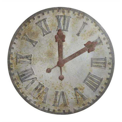 Decorative Metal Clock Face Large