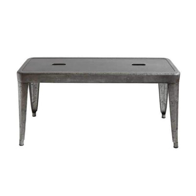 Galvanized Metal Bench
