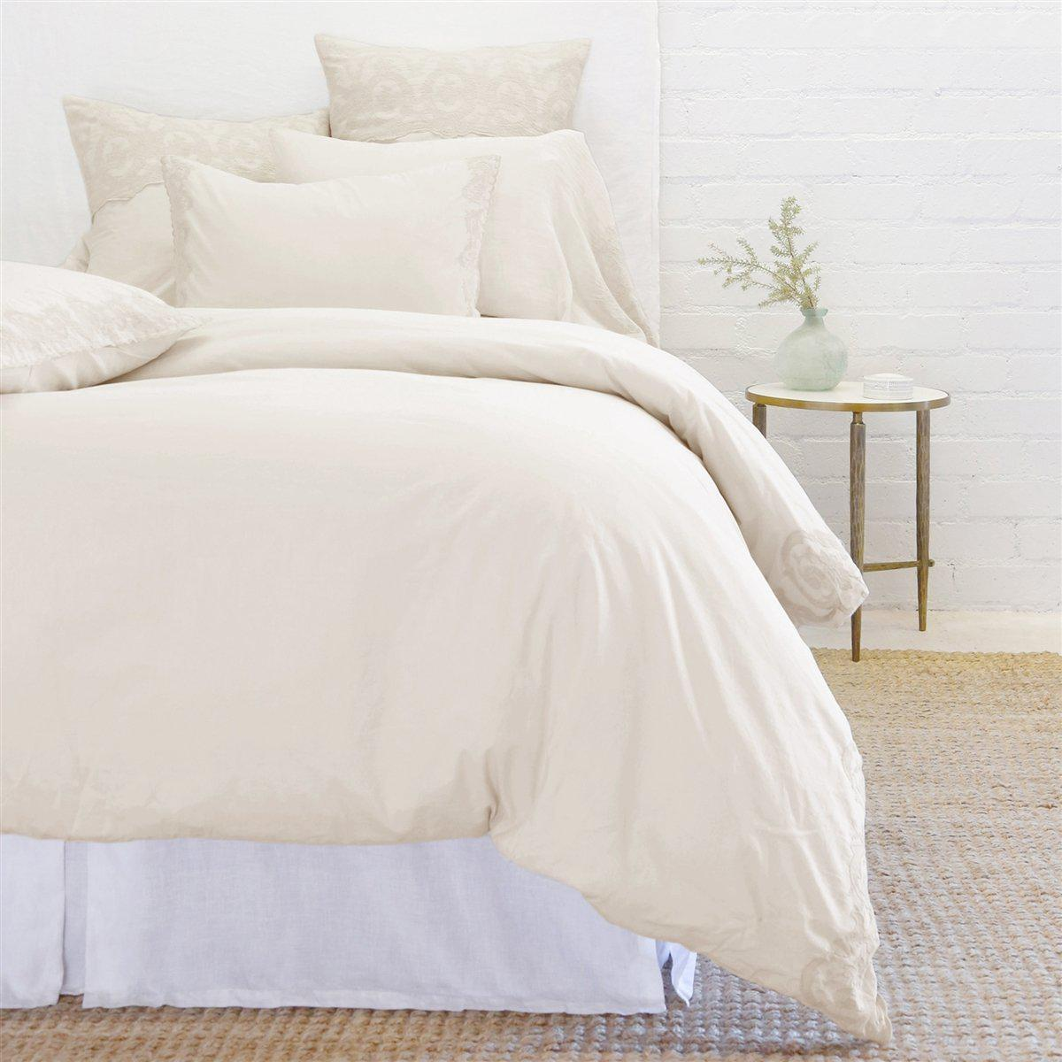 Grace Duvet Set by Pom Pom at Home-Bed & Bath-Pom Pom-Twin-Taupe-A Cottage in the City