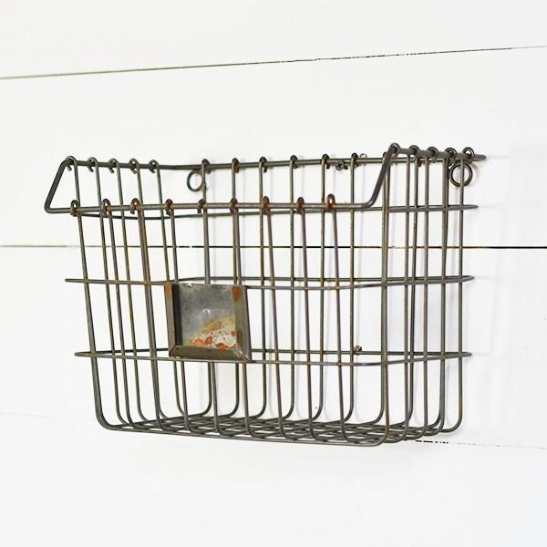 Metal Wire Wall Basket-Storage-PD Home-A Cottage in the City
