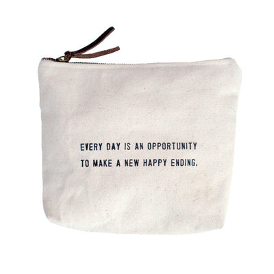 Sugarboo Designs Canvas Bag Every Day Is An Opportunity