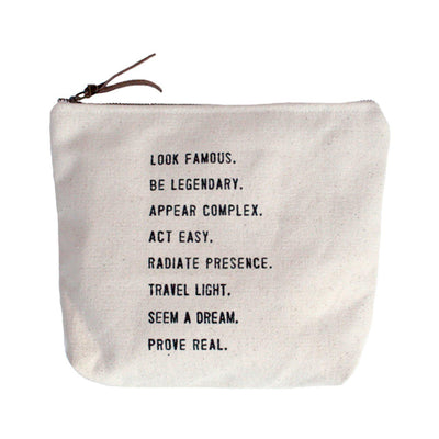 Sugarboo Designs Canvas Bag Look Famous