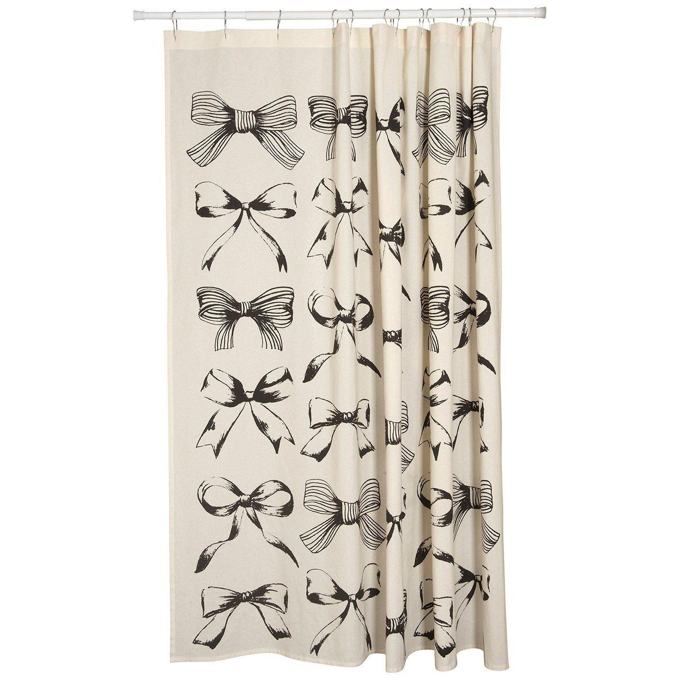 Vintage Bows Shower Curtain