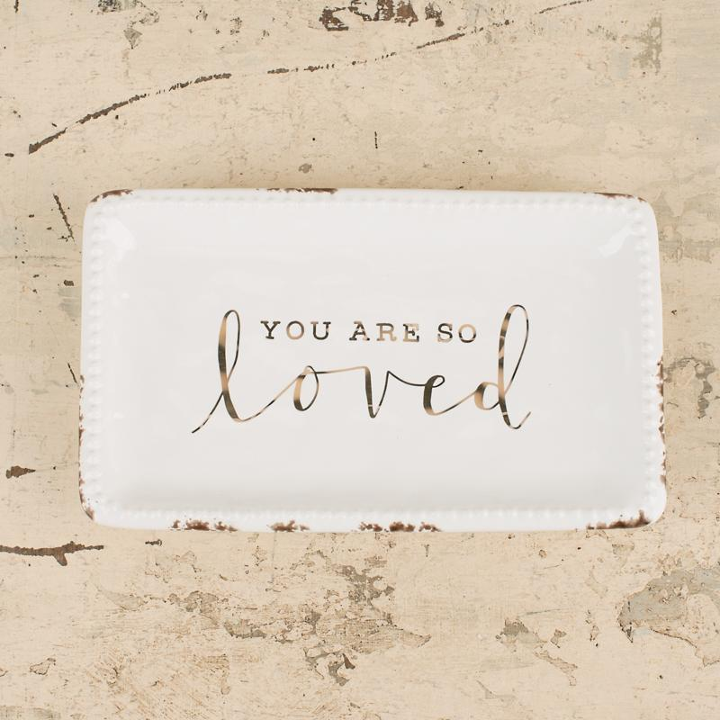 You Are So Loved Tray-Decor-Glory Haus-A Cottage in the City