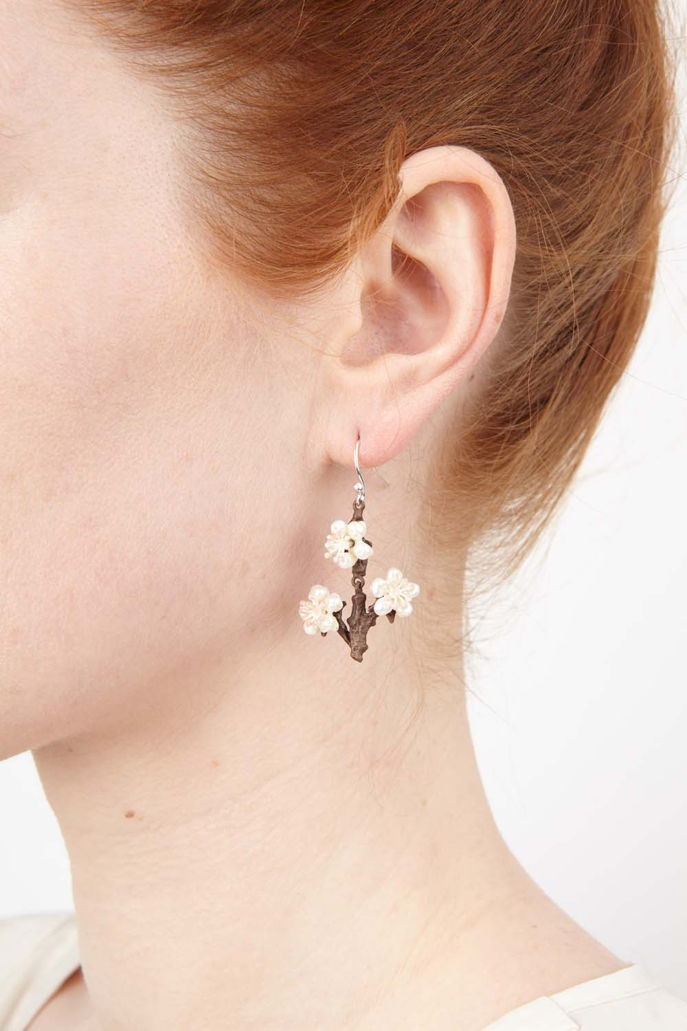 Cherry Blossom Earrings - Twigs