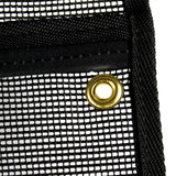 brass grommets on all bags