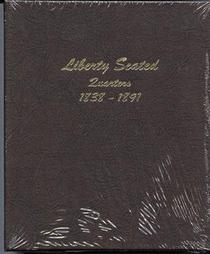 Dansco Album #6142 for Liberty Seated Quarters