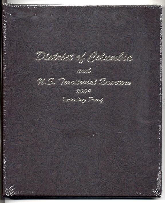 Dansco Album #8145 for Territorial Quarters P,D & S Mints